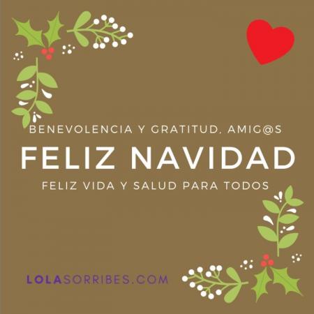 Feliz año nuevo de parte de Lola Sorribes
